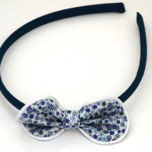 ST MiniFleursBleues-BleuNuit