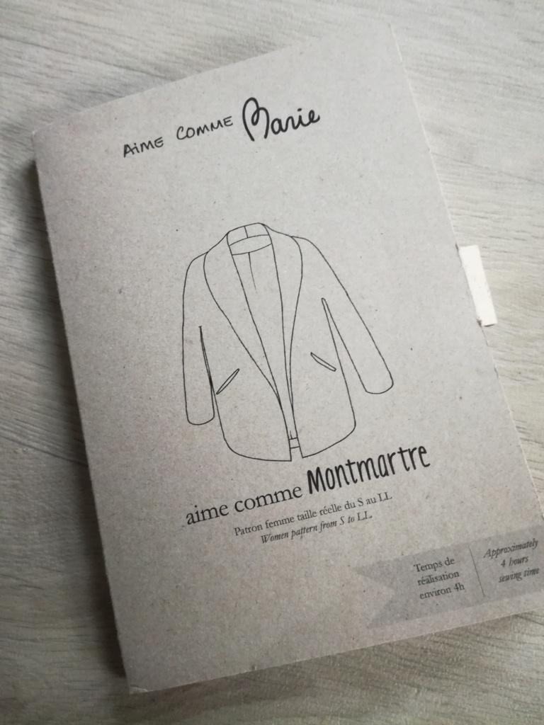 pochette du patron Montmartre de Aime comme Marie