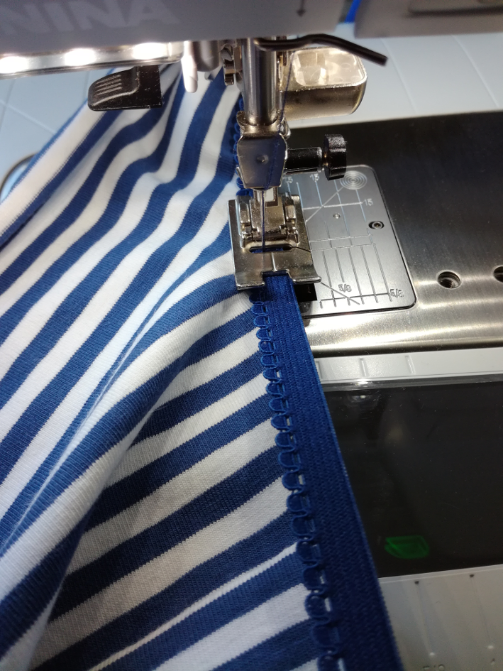 Couture des élastiques