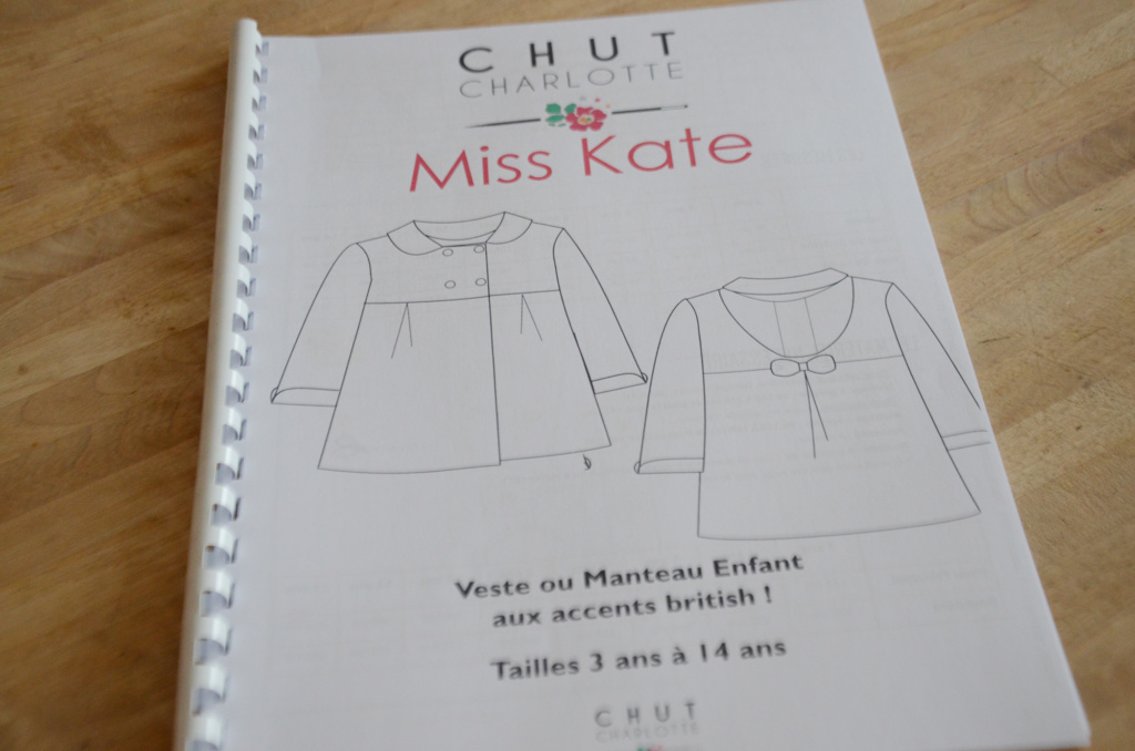 Chut Charlotte - patron Miss Kate - Livret d'explications
